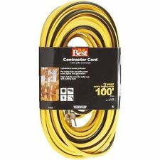 12/3 LIGHTED CONTRACTOR EXTENSION CORD - 25' / 50' / 100' AVAILABLE - SHIPS FREE