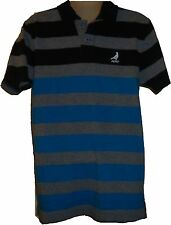 Mens AEROPOSTALE Aero Dove Logo Skate Striped Jersey Polo Shirt NWT #2440