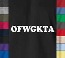 Tyler The D Creator OFWGKTA Soft Cotton T-Shirt Odd Future Rapper Dope Swag Tee