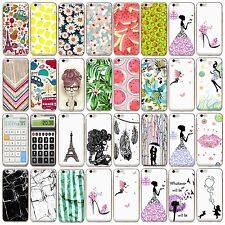 Fashion Design Painted Pattern Silm Soft TPU Plastic Phone Case Cover for iPhone