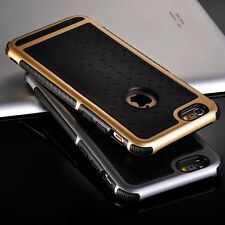 Metallic Bumper Frame Rubber Back Case Cover for iPhone 5/5S/5SE 6/6S 6S Plus