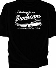 """Introducing The New"" Sunbeam Rapier, Retro T-Shirt."