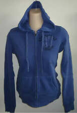 Womens AEROPOSTALE A87 Blue Dyed Zip-Front Hoodie NWT #6282
