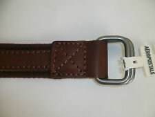 Men's Mens Aeropostale Webbed Leather Belt NWT #9714
