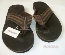Mens AEROPOSTALE Basic Leather Sandals Flip Flops size Small (9) NWT #1027