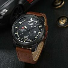 Luxury Mens Watches Quartz Analog Sports New Wrist Watch Date/Week Display C4M5