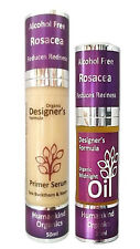 Designer's Formula Organic ROSACEA SKIN PRIMER SERUM, MIDNIGHT OIL or TWIN DEAL