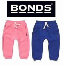 BABY BONDS BOY BOYS GIRLS SIGNATURE TRACKIE COTTON TRACKIES BLUE PANTS SIZE 0