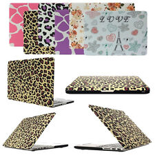 "Pattern Rubberized Hard Case for Apple Mac Macbook Air Pro Retina 11"" 13"" 15"""