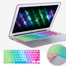 Rainbow Keyboard Protector Silicone Cover For MacBook Air Pro Retina 11 13 15