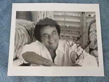 "Johnny Mathis Signed 8"" x 10"" Photograph"
