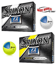 New 2016 Srixon Q-Star Golf Ball Six Dozen / 72 Golf Balls - Yellow or White