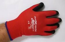 RED KNIGHT NYLON GLOVE WITH LATEX PALM- GNL156
