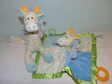 "Mary Meyer LITTLE STRETCH GIRAFFE Activity Character Blanket 13"" Soft Plush Toy"