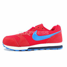 Nike MD Runner 2 GS [807316-601] NSW Running Red/Blue-Obsidian