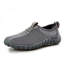 Men/womens breathable casual Hiking running lovers Trainers slip on mesh shoes