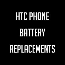 HTC Mobile Phone Battery Replacements & Upgrades