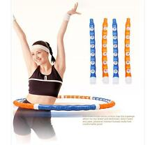 Weighted Magnetic Hula Hoop Fitness Exercise Massager Workout