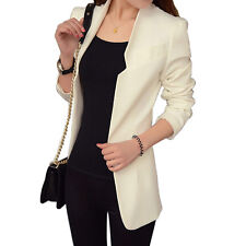 NEW Korean Slim Long Sleeve Casual Suit OL WOMEN Blazer Suit Jacket Coat Outwear
