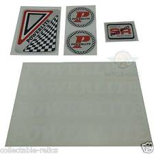 Powerlite BMX Decals Frame Fork Handlebars Bike Stickers Set Old School Racing