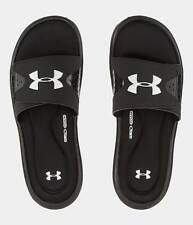 Under Armour UA Ignite IV Slides Sandals - Black - Mens 8, 9, 10, 11, 12, 13