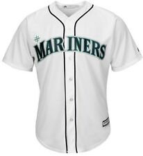 Seattle Mariners Majestic Mens Replica Cool Base Jersey White Big & Tall Sizes