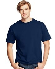Hanes Men's Navy TAGLESS Crew Neck T-shirts COMFORT COOL 3-Pack NEW Sizes S-2XL