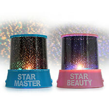 Romantic Colorful LED Starry Sky Star Master Lights  Projector Lamp Amazing Gift