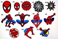 Spiderman Marvel Comic Cartoon Movie Toy Kids Lego Jeans Bag Shirt Iron on patch