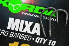 NEW KORDA MIXA BARBED & BARBLESS HOOKS SIZE 6,8,10,12 FOR SURFACE / ZIG FISHING