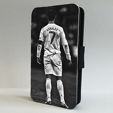 Ronaldo Football  Real Madrid  FLIP PHONE CASE COVER fits ALL IPHONE & SAMSUNG