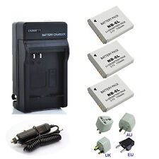 New Battery / Charger For Canon PowerShot SX610 HS and SX710 HS Digital Camera