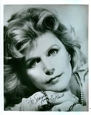 "LEE REMICK SIGNED 8x10 HEAD SHOT PROMO JSA COA PHOTO ""THE OMEN"" FILM ACTRESS"