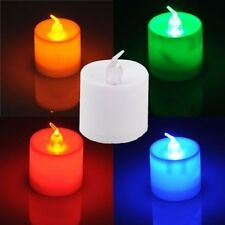 Flickering Flameless LED LIGHTS Candles Wedding Light Battery Operated
