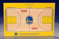 THE GOLDEN STATE WARRIORS 73 WINS ORACLE ARENA MINI COURT