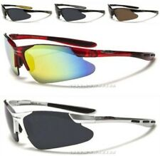 NEW BLACK X LOOP MENS LADIES LARGE WRAP SUNGLASSES SPORTS CYCLING RUNNING UV400