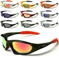 NEW X-LOOP SPORTS SUNGLASSES CYCLING MENS LADIES BOYS BLACK WRAP DESIGNER UV400