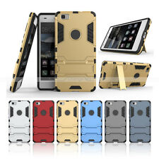 Rugged Armor TPU+PC Heavy Shockproof Stand Hard Protective Case Cover For Huawei