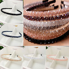 Delicate Women Lady Girl Chic Bead Crystal Headband Head Piece Hair Band Jewelry