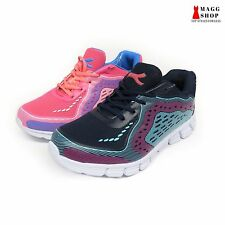 New Women's Mesh Running Training Athletic Laces Pink Navy Blue Sneakers Shoes