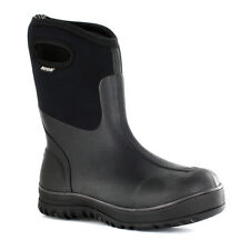Bogs Mens Classic Ultra Mid Rubber Waterproof Pull On Slip Resistant Work Boot
