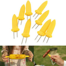 6/12/18/24pcs Corn On The COB Holders BBQ Prongs Skewers Forks Party  Barbecue