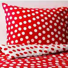♡♡ LUXURY POLKA DOT PILLOW CASES ♡♡ Pillow Cover Polly Cotton Quality Pair Pack