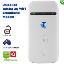 Telstra 3G WiFi Mobile Hotspot ZTE MF65 Next G 3G Broadband Modem UNLOCKED