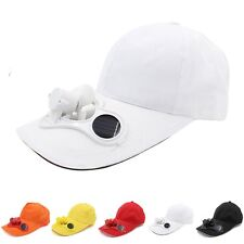 Sun Solar Power Cooling Fan Hat Cap For Golf Baseball Outdoor Sports Summer