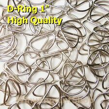 """Wholesale 1000 Pcs. 1"""" One Inch D Rings Webbing Strapping Dee Rings High Quality"""