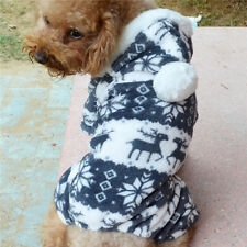 Dog Cat Hoodie Clothes Dress  Pet Puppy Warm Coat Cute Hot Costume Apparel cute