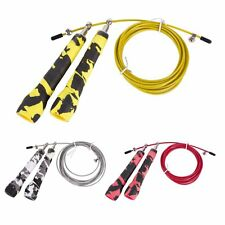 High Speed Steel Wire Skipping Adjustable Jump Rope Fitness Jump Gym Useful Hot