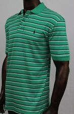 POLO Ralph Lauren Polo Green With Navy And White Stripe ~NWT~