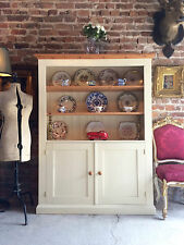 Stunning Welsh Dresser Pine French Farmhouse Cream
